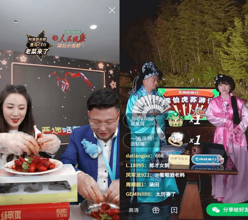 china China's CEOs are making millions by selling their products on livestreams ceos2 796x708 1